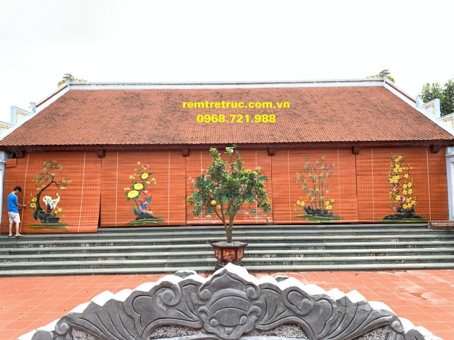 mành tre che nắng nhà thờ thái bình 33