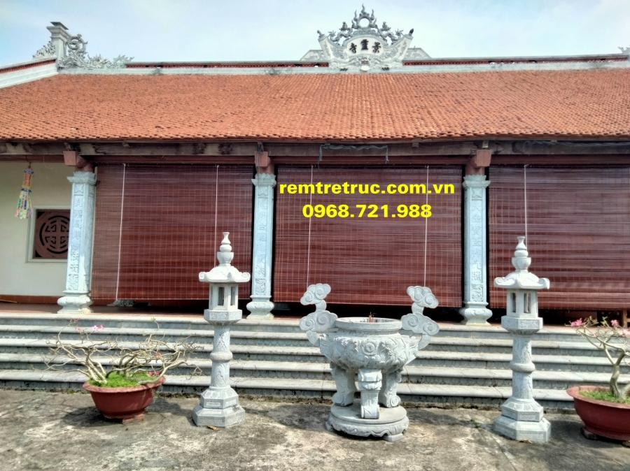 mành tre nhà chùa 12